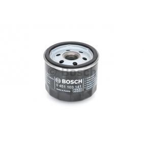 Oil Filter Ø: 78mm, Height: 63,5mm with OEM Number 71736169