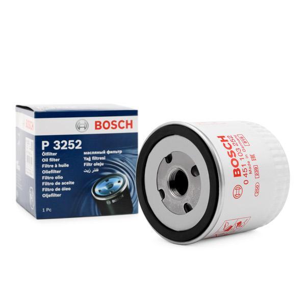 Filtro de Aceite BOSCH 0451103252 conocimiento experto