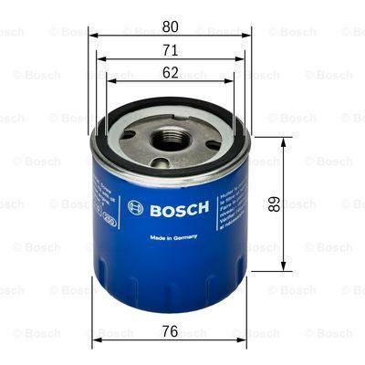 Filtro de Óleo BOSCH 0451103261 3165141077476
