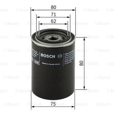Motorölfilter 0 451 103 271 BOSCH P3271 in Original Qualität