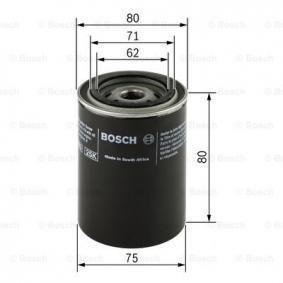 Ölfilter Ø: 76mm, Höhe: 80,5mm mit OEM-Nummer 4105 409AB