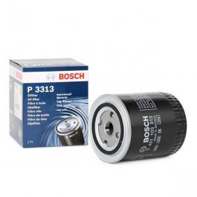BOSCH Ölfilter 0 451 103 313 für AUDI 80 (8C, B4) 2.8 quattro ab Baujahr 09.1991, 174 PS