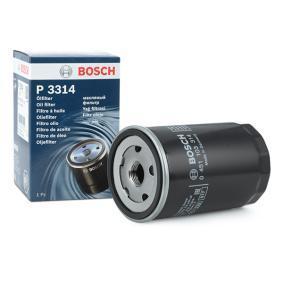 BOSCH Ölfilter 0 451 103 314 für AUDI 80 (8C, B4) 2.8 quattro ab Baujahr 09.1991, 174 PS