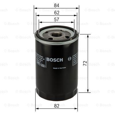 Oil Filter BOSCH P3316 3165143170564