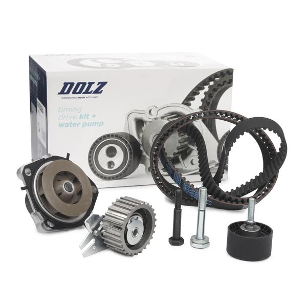 Timing belt and water pump kit DOLZ 06KD042 expert knowledge