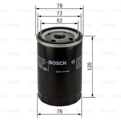 Ölfilter BOSCH P3344 3165143224335