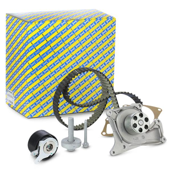 Timing belt and water pump kit SNR KDP455.640 expert knowledge