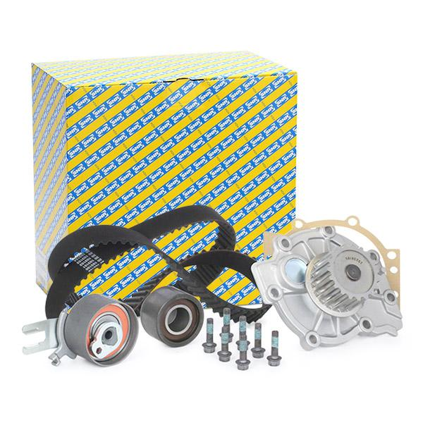 Timing belt and water pump kit SNR KDP465.030 expert knowledge