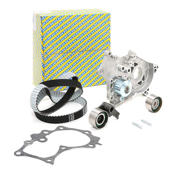 Timing belt kit with water pump SNR KDP469.140 expert knowledge