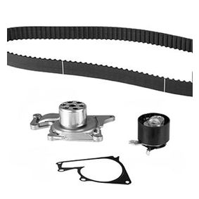 Water pump and timing belt kit Width: 27mm with OEM Number 1680600Q2D