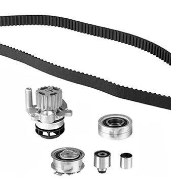 GRAF  KP1137-1 Water pump and timing belt kit Width: 25mm