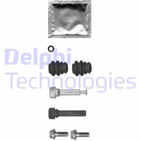 2008 KIA Ceed ED 1.6 Guide Sleeve Kit, brake caliper KS1081