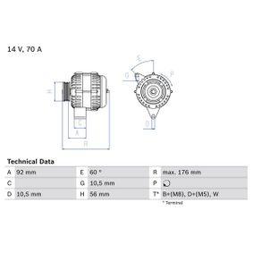 Lichtmaschine mit OEM-Nummer A008 154 96 02
