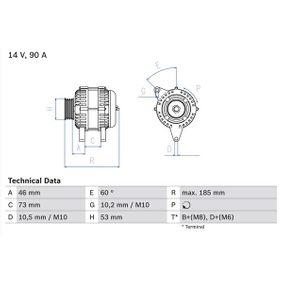 Lichtmaschine mit OEM-Nummer 12311247488