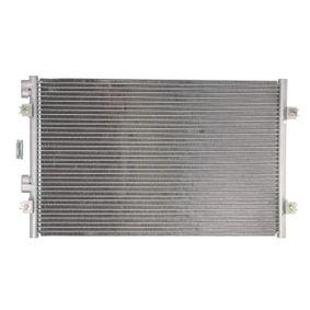 Kondensator, Klimaanlage Netzmaße: 534-350-16 mit OEM-Nummer 50 935 98A A