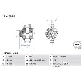Lichtmaschine mit OEM-Nummer A 012 154 59 02 80