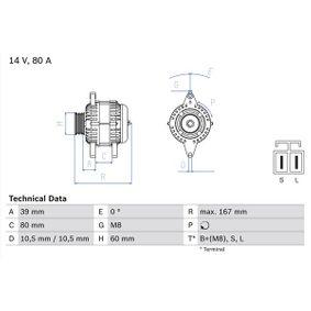 Alternatore con OEM Numero LR180768