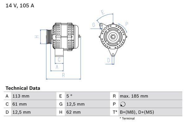 Generator BOSCH 0 986 048 791 Bewertung