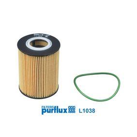 PURFLUX  L1038 Ölfilter Ø: 82mm, Innendurchmesser: 35mm, Höhe: 108mm