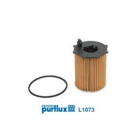 Oil Filter Ø: 72mm, Inner Diameter: 18mm, Height: 99mm with OEM Number 1254 385