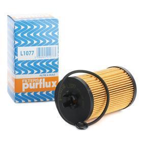 PURFLUX  L1077 Ölfilter Ø: 57mm, Innendurchmesser: 26mm, Höhe: 104mm