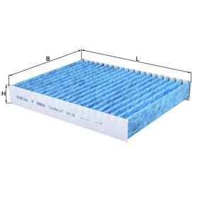 Filter, Innenraumluft Länge: 241mm, Breite: 190mm, Höhe: 34mm mit OEM-Nummer 2S6J19G244-AA