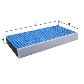 Filter, Innenraumluft Länge: 314mm, Breite: 152mm, Höhe: 40mm mit OEM-Nummer 6447 TC