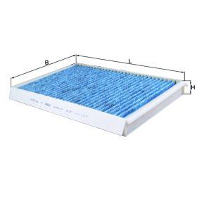 Filter, Innenraumluft Länge: 355mm, Breite: 234mm, Höhe: 30mm mit OEM-Nummer A 9068300318