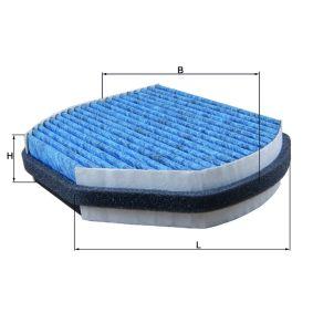 Filter, Innenraumluft Breite: 274,0mm, Höhe: 54,0mm mit OEM-Nummer 71775 179