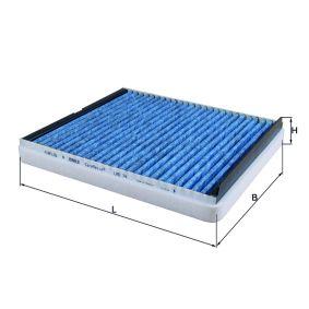 Filter, Innenraumluft Länge: 277mm, Breite: 243mm, Höhe: 40mm mit OEM-Nummer 91 18 699
