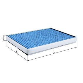 Filter, Innenraumluft Breite: 208,0mm, Höhe: 29,0mm mit OEM-Nummer 91 21 627