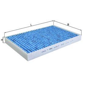 Filter, Innenraumluft Breite: 204,0mm, Höhe: 30,0mm mit OEM-Nummer 8E0 819 439 C
