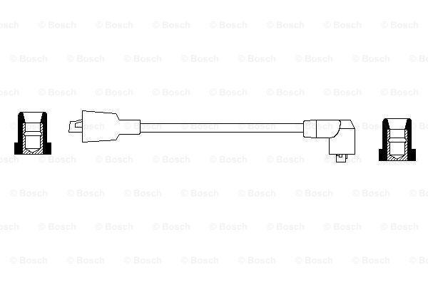 Cable de encendido BOSCH 0 986 356 042 evaluación