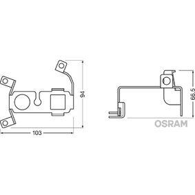 Държач, фар за мъгла LEDFOG101-VW-M Golf 5 (1K1) 1.9 TDI Г.П. 2006
