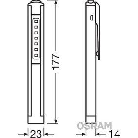 Lámpara de mano LEDIL105