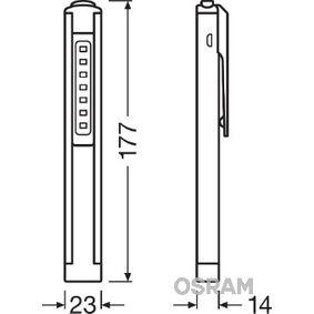 Lámpara de mano LEDIL106