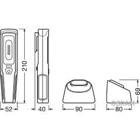 Lămpi de mână Capacitate baterie: 2000mAh LEDIL207
