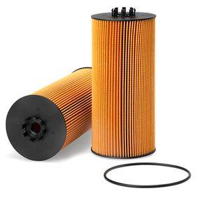 Ölfilter Innendurchmesser 2: 14,3mm, Innendurchmesser 2: 55,5mm, Höhe: 266,5mm mit OEM-Nummer 4571840125