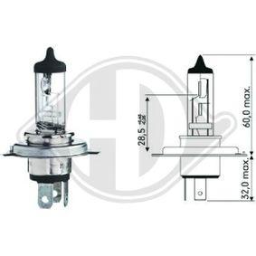 Glühlampe, Hauptscheinwerfer HS1, PX43t, 12V, 35/35W LID10024