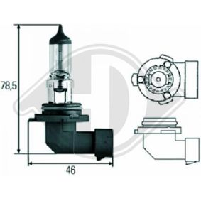 Bulb, spotlight HB3, 60W, 12V LID10025 MERCEDES-BENZ C-Class, SLR