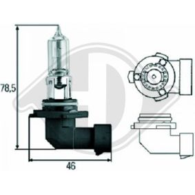Glühlampe, Fernscheinwerfer HB4, 51W, 12V LID10029 VW GOLF, PASSAT, POLO