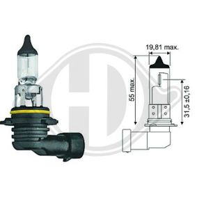 Bulb, spotlight HB4, 51W, 12V LID10030 MERCEDES-BENZ C-Class, SLK, CLK