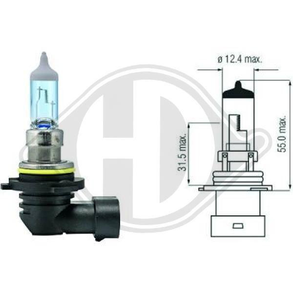 DIEDERICHS Xenon Look LID10031 Bulb, spotlight
