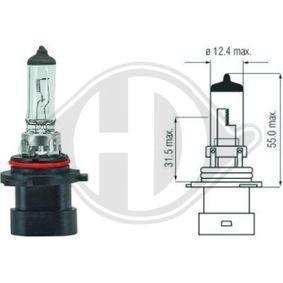 Glühlampe, Hauptscheinwerfer HB4A, P22d, 12V, 51W LID10032