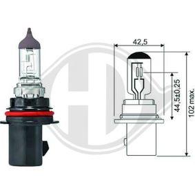 Bulb, headlight HB5, PX29t, 12V, 65/55W LID10033