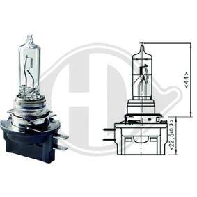 Bulb, headlight H9B, PGJY19-5, 12V, 65W LID10036