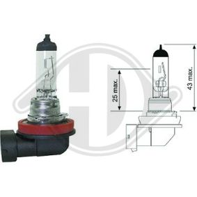 Glühlampe, Fernscheinwerfer H11, 55W, 12V LID10040
