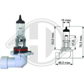 Bulb, headlight H12, PZ20d, 12V, 53W LID10041