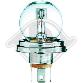 T4 Transporter 2.5 Syncro Hauptscheinwerfer Glühlampe DIEDERICHS LID10042 (2.5 Syncro Benzin 2001 ACU)