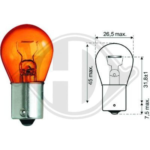 Glühlampe, Blinkleuchte DIEDERICHS LID10048 Bewertung
